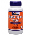 Альфа-липоевая кислота / Alpha Lipoic Acid / Антиоксидант 60 капсул, 250 мг