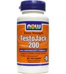 Тесто Джек 200 / TestoJack 200 / Усиливает потенцию 60 капс.