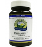 Витамин Е / Vitamin E 180 капс. 260 мг
