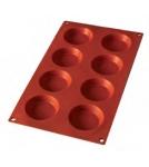 Форма Тарталетка-8 / силиконовая 8х30 мл Испания