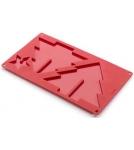 Форма 3D. Елочка со звездой / красный Испания