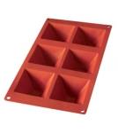 Форма Пирамидка-6 / силиконовая по 100 мл Испания