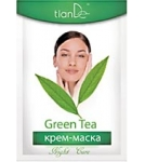 Крем-маска Ночная для лица Зелёный чай 1 шт.