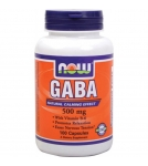 NOW GABA - ГАМК (Гамма аминомасляная кислота) - БАД