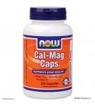NOW Cal-Mag - витамины с кальцием и магнием - БАД