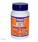 NOW B-6 – Витамин Б-6 в таблетках - БАД