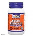 NOW Natural Resveratrol – Ресвератрол - БАД