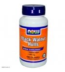 NOW Black Walnut Hulls - Экстракт черного ореха - БАД