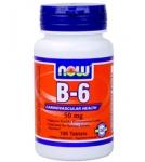 Витамин В-6 (пиридоксин) 100 табл., 50 мг