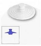 Пробка МАЛАЯ / для раковин, ванн, душевых кабин d=7,5 см Греция