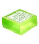 Натуральное мыло Зеленое яблоко / ручной работы 85 г