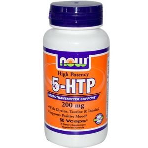 5-HTP с Глицином, Таурином и Инозитолом / 5-HTP with Glycine, Taurine & Inositol 60 капс. 200 мг