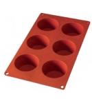 Форма Маффин-6 / силиконовая 6Х120 мл Испания