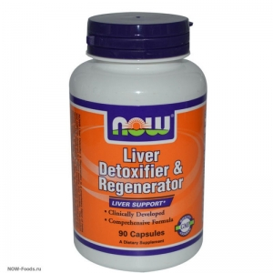 NOW Liver Detoxifier – Ливердетокс - БАД
