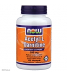 NOW Acetyl-L-Carnitine (l ацетил карнитин) - БАД