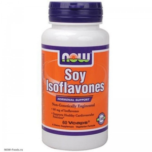 NOW Soy Isoflavones – Изофлавоны сои - БАД