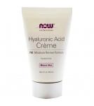 NOW Hyaluronic Acid Cream - Увлажняющий крем с гиалуроновой кислотой (ночной) 58 мл - БАД
