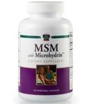 МСМ c микрогидрином / MSM with Microhydrin 120 капс. 750 мг