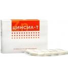Цинсил-Т 20 таблеток